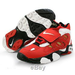 Nike Air Diamond Turf II Red/Gold Men's Athletic Shoes Size 13