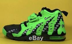 Nike Air Diamond Turf Max'96 Rage Green Black Men's Shoes Size 10 AQ5100-300