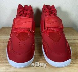 Nike Air Diamond Turf Mens Shoes Gym Red White Deion Sanders SZ New 309434-600