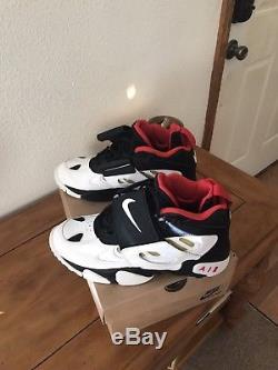 Nike Air Diamond Turf Shoes Vtg 90s 1992 Deion Sanders OG Mens US 9