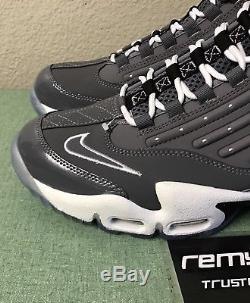 Nike Air Griffey Max II 2 Cool Grey White Black Mens Sz 10 Ken Trainers Turf NEW