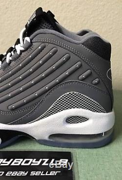 Nike Air Griffey Max II 2 Cool Grey White Black Mens Sz 10 Ken Trainers Turf NEW