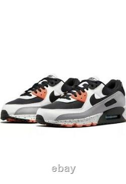 Nike Air Max 90 Aquamarine Turf Orange Black White Mens Shoe Size US 11.5 NIB