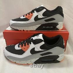 Nike Air Max 90 Edition Shoes DC9845 100 White Black Turf Orange Blue Sz 11