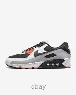 Nike Air Max 90 Shoes Turf Orange Aquamarine Black Speckle Sz 10 FREE READ