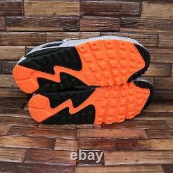 Nike Air Max 90 White/Black-Turf Orange Aquamarine Mens Shoes Sz 9 DC9845 100