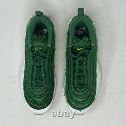 Nike Air Max 97 Golf NRG Grass CK4437-100 Mens Size 8 Nike Golf Shoes Turf