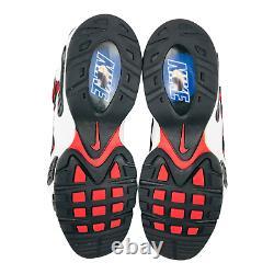 Nike Air Max NM Men's Baseball Turf Retro Suede Shoes sz 10 Black Red White