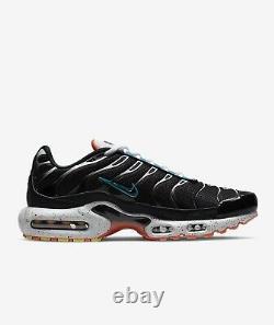 Nike Air Max Plus Black Turf Orange Aquamarine Shoes Mens Sizes 10-12 CZ1651-001