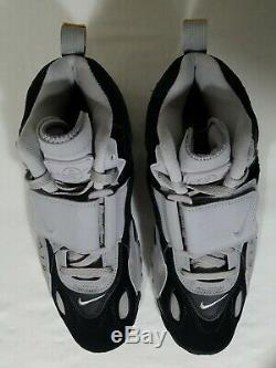 Nike Air Max Speed Football Turf Shoes Size 9.5,12 Men's Gray & Black AV7895-001