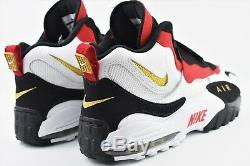 Nike Air Max Speed Turf 49ers 2018 Mens Size 12 Shoes 525225 101 White Black