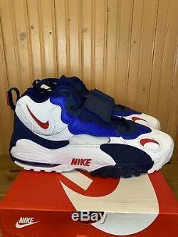 Nike Air Max Speed Turf BV1165-100 NY Giants Football Training Shoes Men's 10
