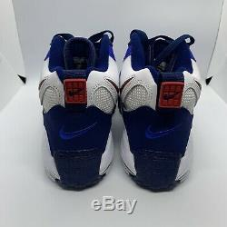 Nike Air Max Speed Turf BV1165-100 NY Giants Football Training Shoes Men's 9.5