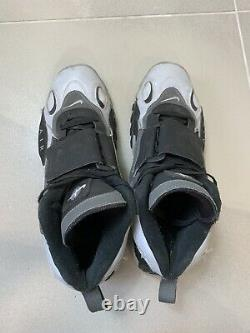 Nike Air Max Speed Turf Black Grey Silver Athletic Shoes Men's Size 13