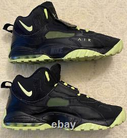 Nike Air Max Speed Turf Black/Neon Green Volt Size 11 Shoes Rare 525225-003 2013