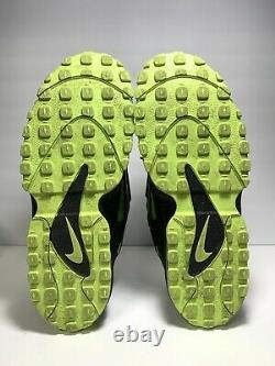 Nike Air Max Speed Turf Black/Neon Green Volt Size 12 Shoes Rare 525225-003 2013