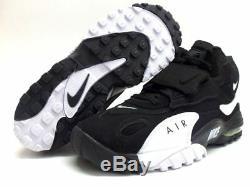 Nike Air Max Speed Turf Black White Voltage Green Yellow 525225-011 Men 8 Shoes
