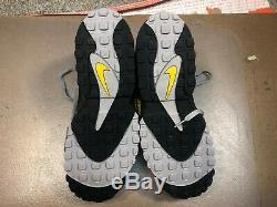 Nike Air Max Speed Turf Black Yellow Deion Sanders Size US 13 Men AV7895 001