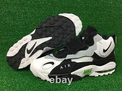 Nike Air Max Speed Turf Chlorophyll Shoes White Mens Size 11 B Grade NEW