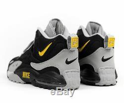 Nike Air Max Speed Turf Cross Training Shoes Grey Black AV7895-001 Men's size 10