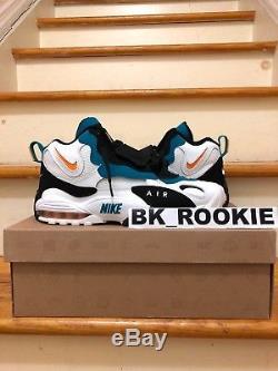 Nike Air Max Speed Turf Dan Marino Miami Dolphins Mens Size 8