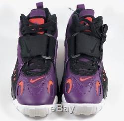 Nike Air Max Speed Turf Dan Marino Night Purple Black White 525225-500 Men's 9