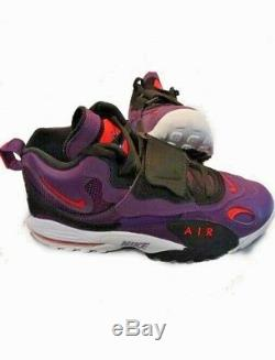 Nike Air Max Speed Turf Dan Marino Night Purple Black White Mens 10.5 -Free  SHIP 97c815e5a