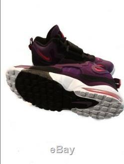 Nike Air Max Speed Turf Dan Marino Night Purple Black White Mens 10.5 -Free SHIP