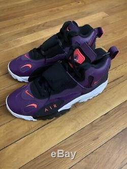 Nike Air Max Speed Turf Deion Sanders Night Purple Shoes Mens 10.5 525225-500