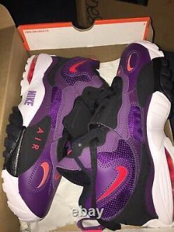 Nike Air Max Speed Turf Deion Sanders Night Purple Shoes Mens 9, 11 525225-500