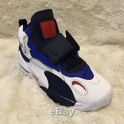 Nike Air Max Speed Turf Giants White Blue Red Shoes BV1165-100 Mens Size 8