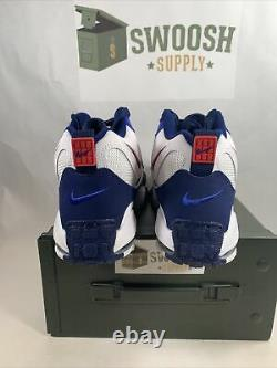 Nike Air Max Speed Turf Giants White Blue Shoes BV1165-100 Mens Size 10.5