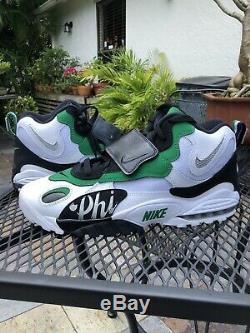 Nike Air Max Speed Turf Men Shoes, White/Green Philadelphia Eagles, BV1228-100