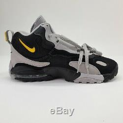 Nike Air Max Speed Turf Men's 12 Cross-Training Shoes Sneakers Black Yellow NEW