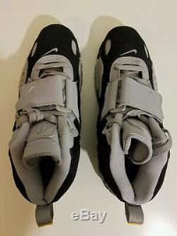 Nike Air Max Speed Turf Men's Cross-Training Shoes Black Grey AV7895-001 Sz 10