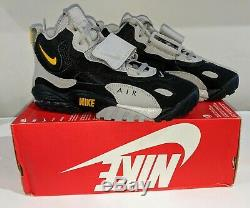 Nike Air Max Speed Turf Men's Cross Training Shoes Grey Black AV7895-001 sz 7.5