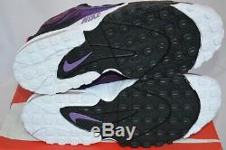 Nike Air Max Speed Turf Men's Shoe Size 10.5 Purple/crimson/wht/blk 525225-500