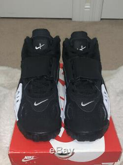 Nike Air Max Speed Turf Men's Shoes Size 12 White Black