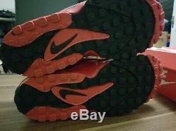 Nike Air Max Speed Turf Men's Size 10.5 University Red/Black Deion Sanders