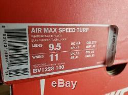 Nike Air Max Speed Turf Mens Shoes Sz 9.5 Philadelphia Eagles White BV1228-100