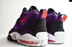 Nike Air Max Speed Turf (Mens Size 11) Shoes 525225 500 Deion Purple Orange