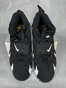 Nike Air Max Speed Turf Mens Sz 10.5 Training Shoes Black Yellow Grey AV7895-001