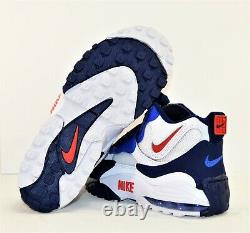 Nike Air Max Speed Turf New York Giants Training Shoes Sz 10.5 NEW BV1165 100
