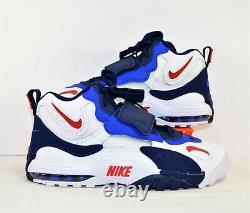 Nike Air Max Speed Turf New York Giants Training Shoes Sz 9.5 NEW BV1165 100