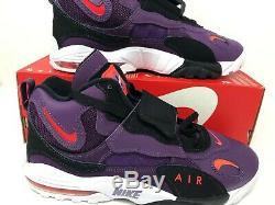 Nike Air Max Speed Turf Night Purple Bright Crimson New Men's 11 525225-500