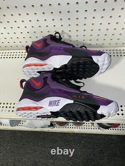 Nike Air Max Speed Turf Night Purple Mens Athletic Shoes Size 8.5 525225-500
