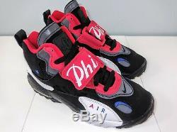 Nike Air Max Speed Turf Philadelphia 76ers Black/Red/White BV1230-001 Men Sz 12