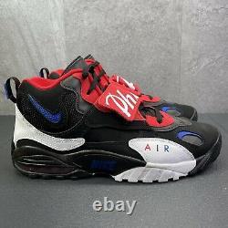 Nike Air Max Speed Turf Philadelphia 76ers Black White Size 12.5 Mens Shoes