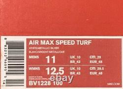 Nike Air Max Speed Turf Philadelphia Eagles Shoe-Wt/Blk/Grn-Men's 11 #BV1228 100
