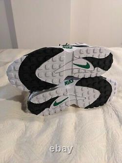 Nike Air Max Speed Turf Philadelphia Eagles White Green Size 10.5 Mens Shoes